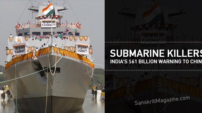 Submarine Killers: India's $61 Billion Warning to China