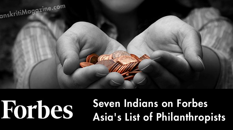 Seven Indians on Forbes Asia's List of Philanthropists