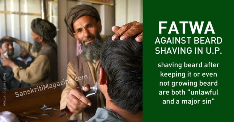 Fatwa against shaving leaves barbers jobless in this UP town