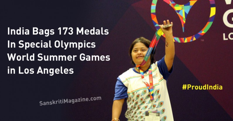 Proud India Bags 173 Medals In Special Olympics World Summer Games