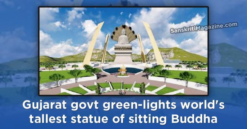 Gujarat govt green-lights world's tallest statue of sitting Buddha