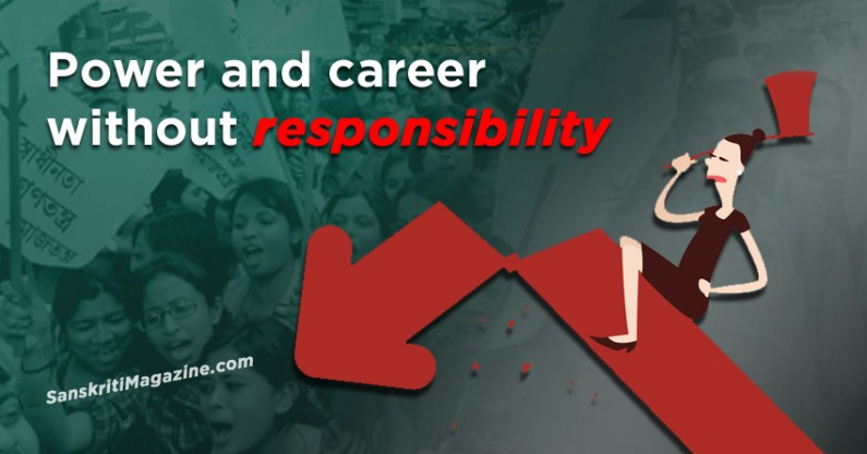 Power and career without responsibility