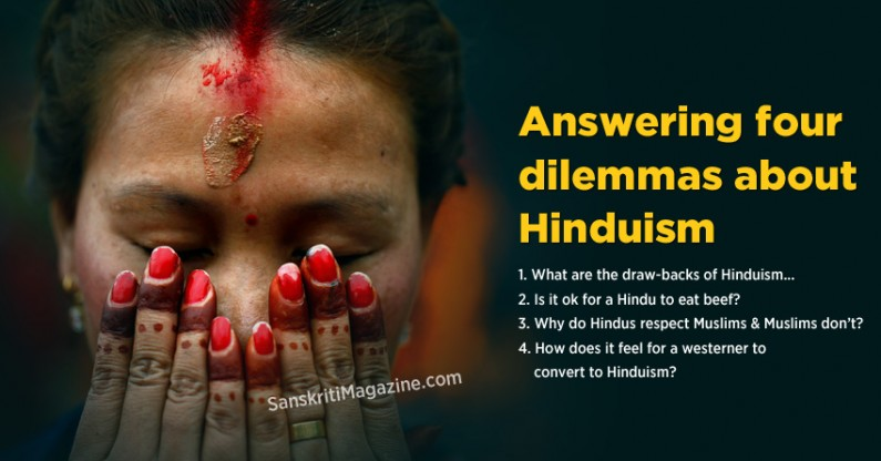 Answering four dilemmas about Hinduism