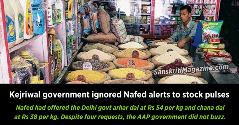 Kejriwal government ignored Nafed alerts to stock pulses