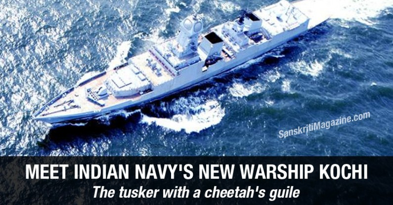 Meet Indian navy's new warship Kochi: The tusker with a cheetah's guile