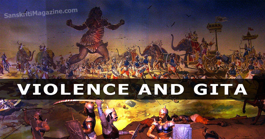 violence and gita
