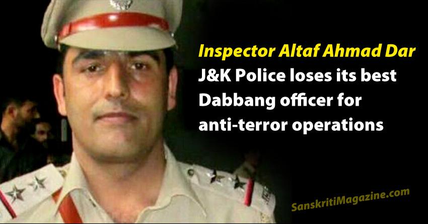 Inspector Altaf Ahmad Dar