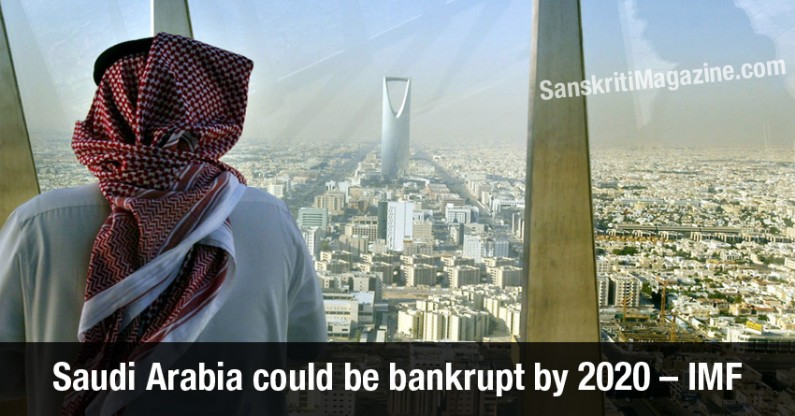 Saudi Arabia could be bankrupt by 2020 – IMF