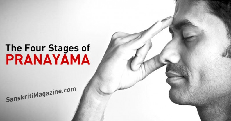 The Four Stages of Pranayama