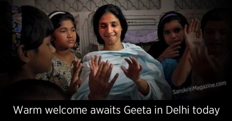 Warm welcome awaits Geeta in Delhi today