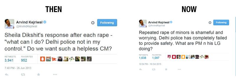 kejriwal rape