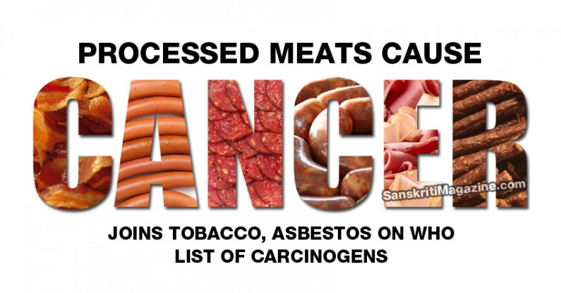Processed meats do cause cancer, joins tobacco, asbestos on WHO list of carcinogens