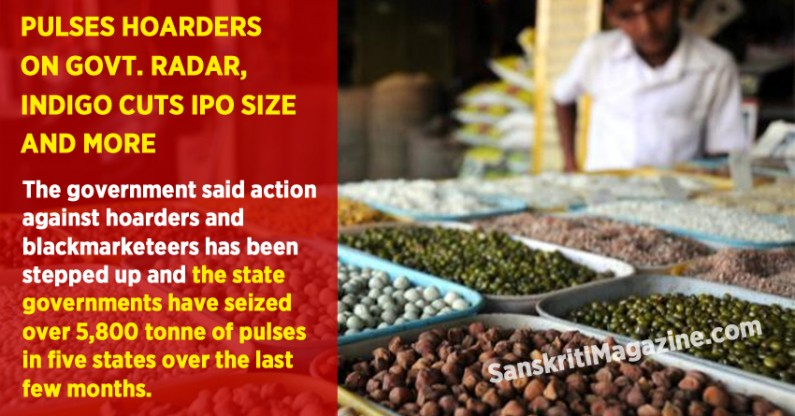 Govt acts against pulses hoarders, seizes 5,800 tonne