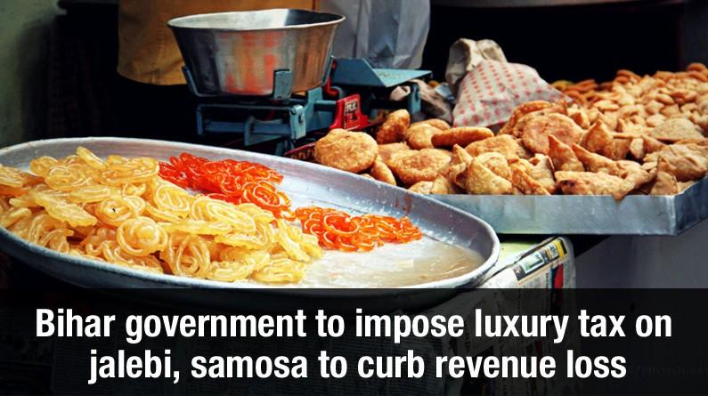 Bihar government to impose tax on jalebi, samosa to curb revenue loss