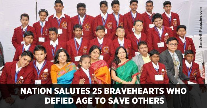 Nation salutes 25 bravehearts who defied age to save others