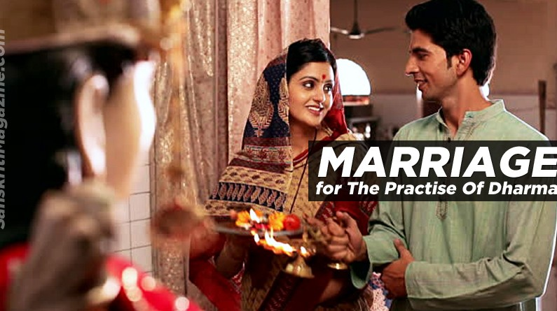 Marriage for The Practise Of Dharma