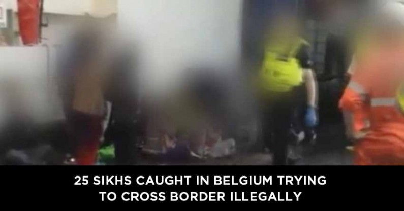 25 Sikhs caught in Belgium trying to cross border illegally