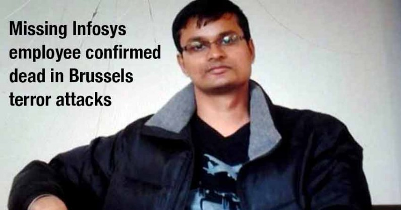 Brussels: Missing Infosys employee confirmed dead in terror attacks