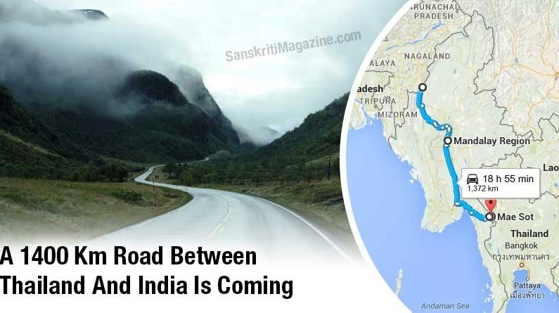 A 1400 Km Road Between Thailand And India Is Coming