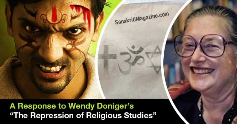 """A Response to Wendy Doniger's """"The Repression of Religious Studies"""""""
