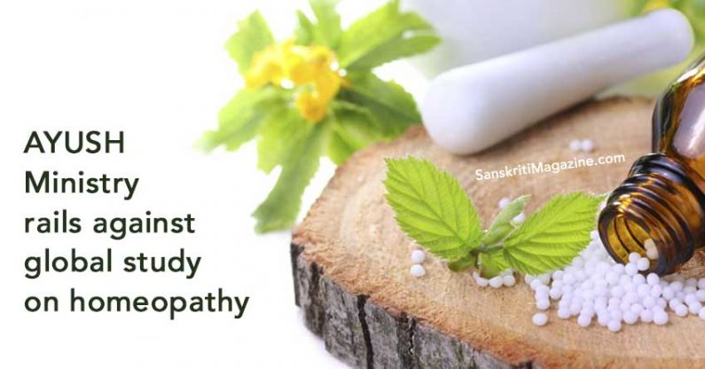 AYUSH Ministry rails against global study on homeopathy