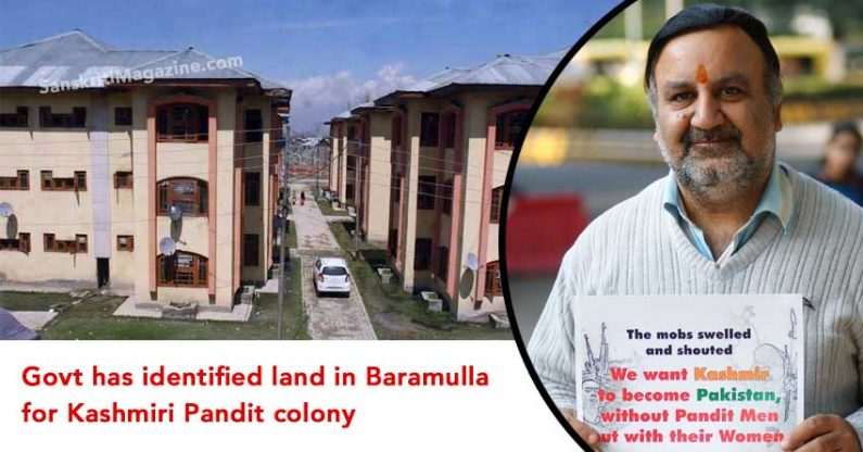 Govt has identified land in Baramulla for Kashmiri Pandit colony, say J&K officials