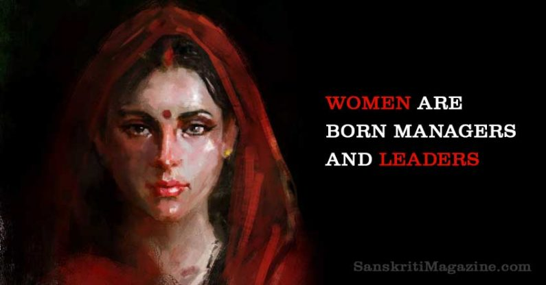 Women Are Born Managers And Leaders