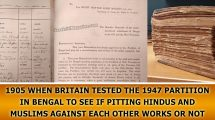 Britain tested the 1947 Partition in Bengal