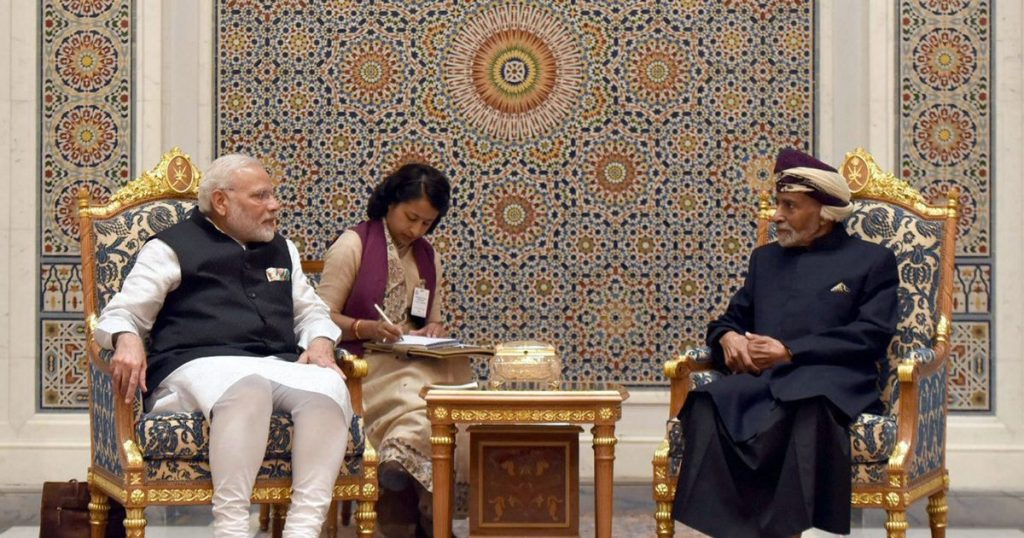 India gets access to strategic port in Oman for military use, to counter China in the Indian Ocean