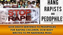 Give-death-sentence-to-pedophiles-for-raping-children,-DCW-body-writes-to-PM-Narendra-Modi