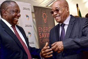 Ramaphosa succeeds Zuma