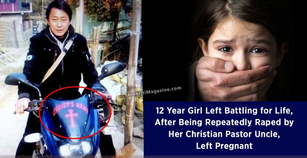 12 Year Girl Left Battling for Life, After Being Repeatedly Raped by Her Christian Pastor Uncle, Left Pregnant