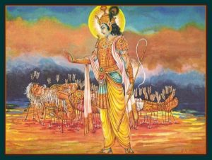 Bhishma's-Instructions-on-his-deathbed-of-arrows