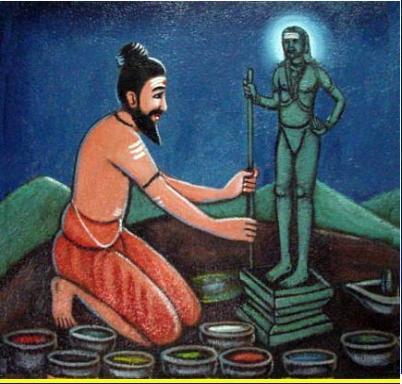 Bogar_Create_Navapasanam_Statue_of_Murugan