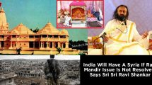 India-Will-Have-A-Syria-If-Ram-Mandir-Issue-Is-Not-Resolved,-Says-Sri-Sri-Ravi-Shankar-In-An-Interview