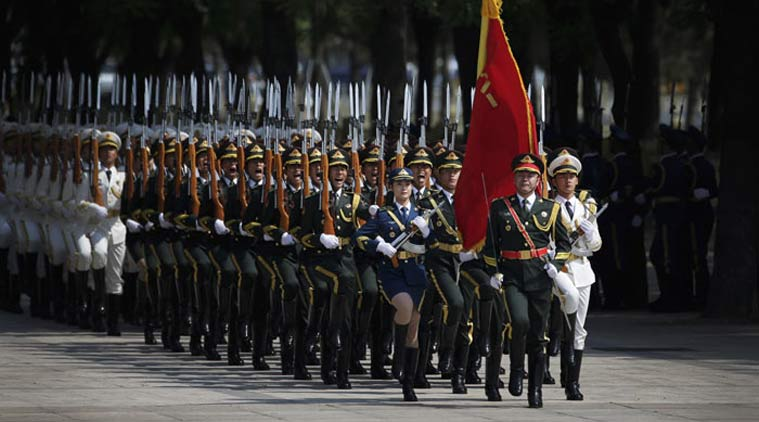 Chinese defence budget