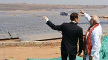 Modi, Macron inaugurate UP's biggest solar power