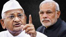 Anna Hazare writes to PM