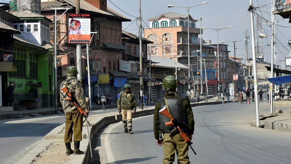 militant killed in Shopian