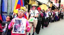 Tibetans in exile