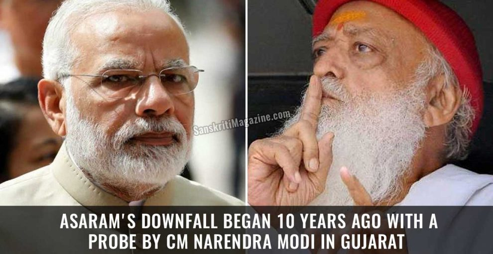 Asaram's-Downfall-Began-10-Years-Ago-With-a-Probe-by-CM-Narendra-Modi-in-Gujarat