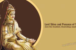 Penance of Sandhya (Later Devi Arundhati) - Chandrabhaga mountain and river