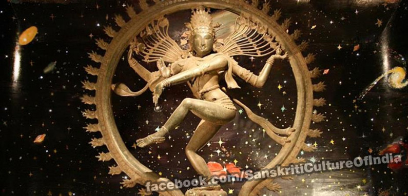 Celestial Beginning of Dance in Ancient India