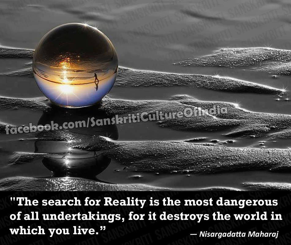 The Search for Reality