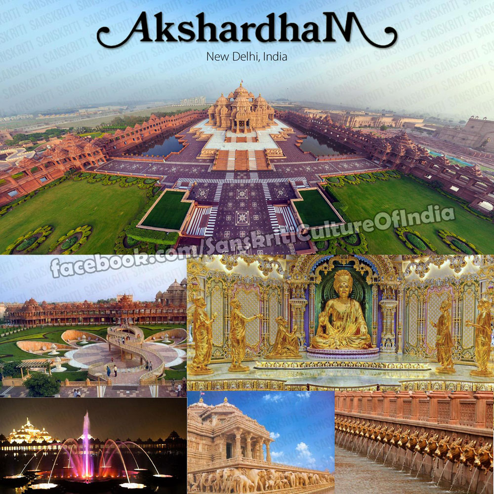 Akshardham - World's Largest Hindu Temple