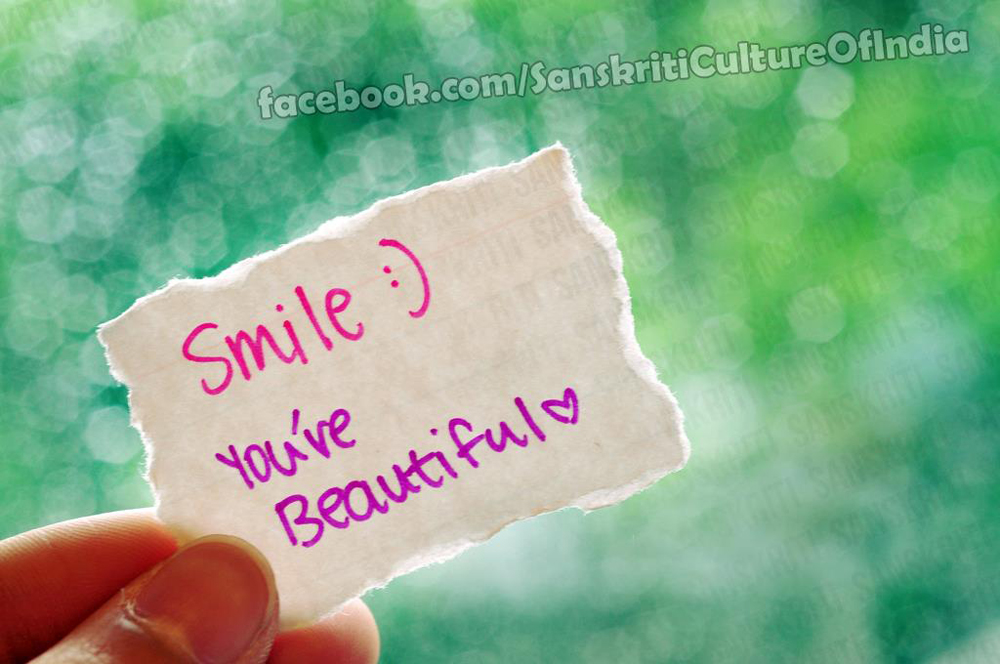 Smile, You Are Beautiful