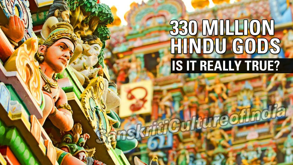330 Million Hindu Gods - Is it really true