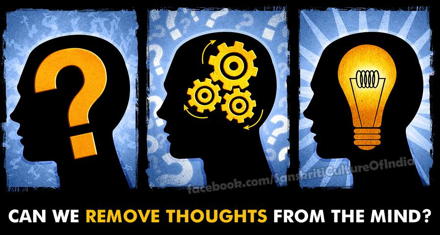 Can We Remove Thoughts From the Mind?