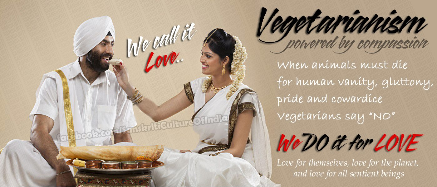 Vegetarianism - We call it love