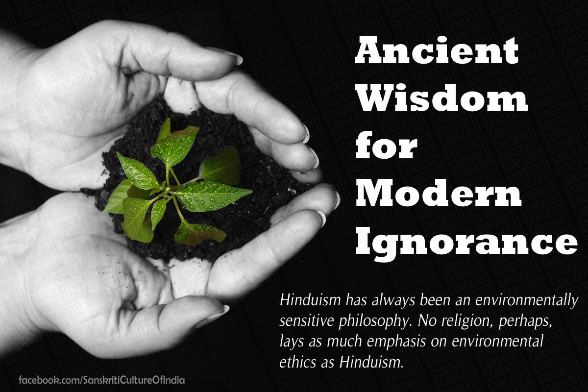 Ancient Wisdom for Modern Ignorance